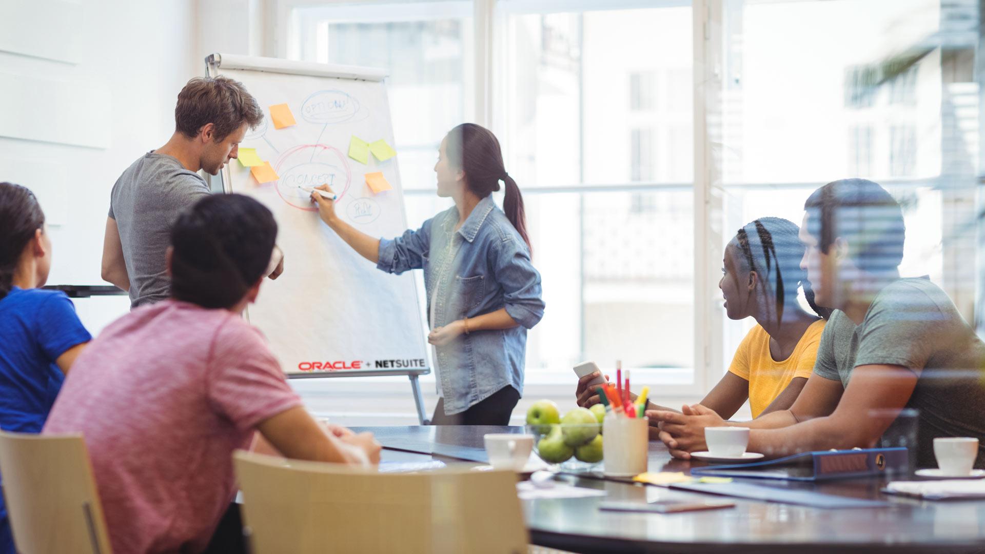 Soluzione Cloud NetSuite per managament HR