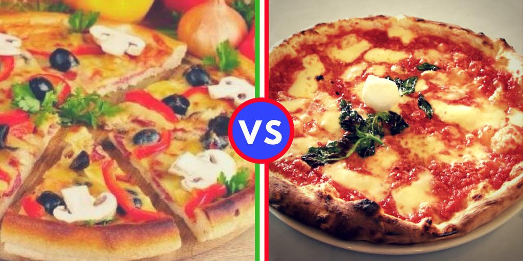 Focaccia VS pizza