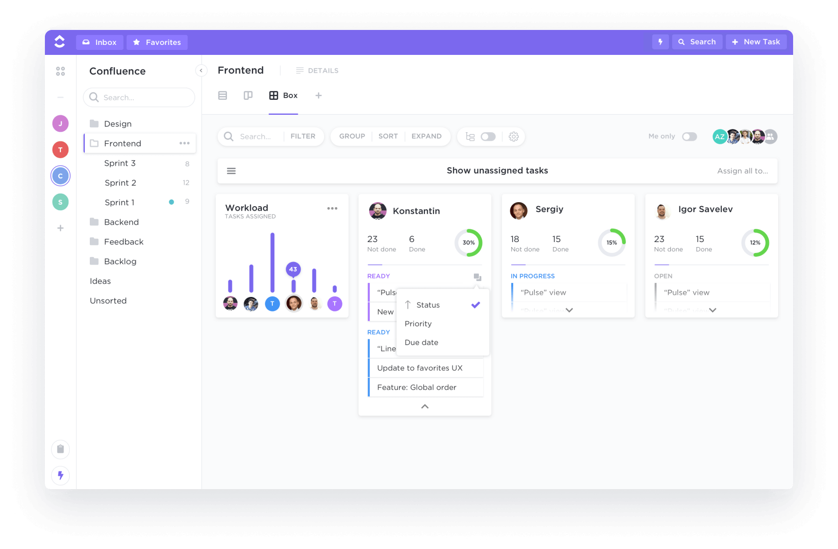Project Management Tool - ClickUp
