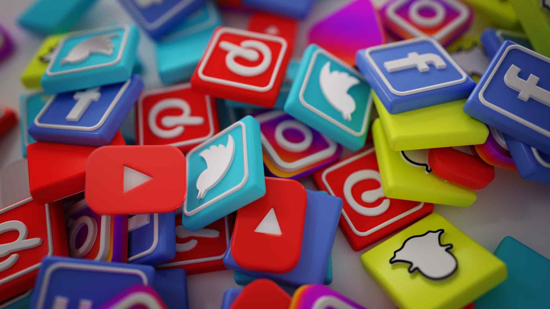 Sito Internet e Web Marketing - Pulsanti social network
