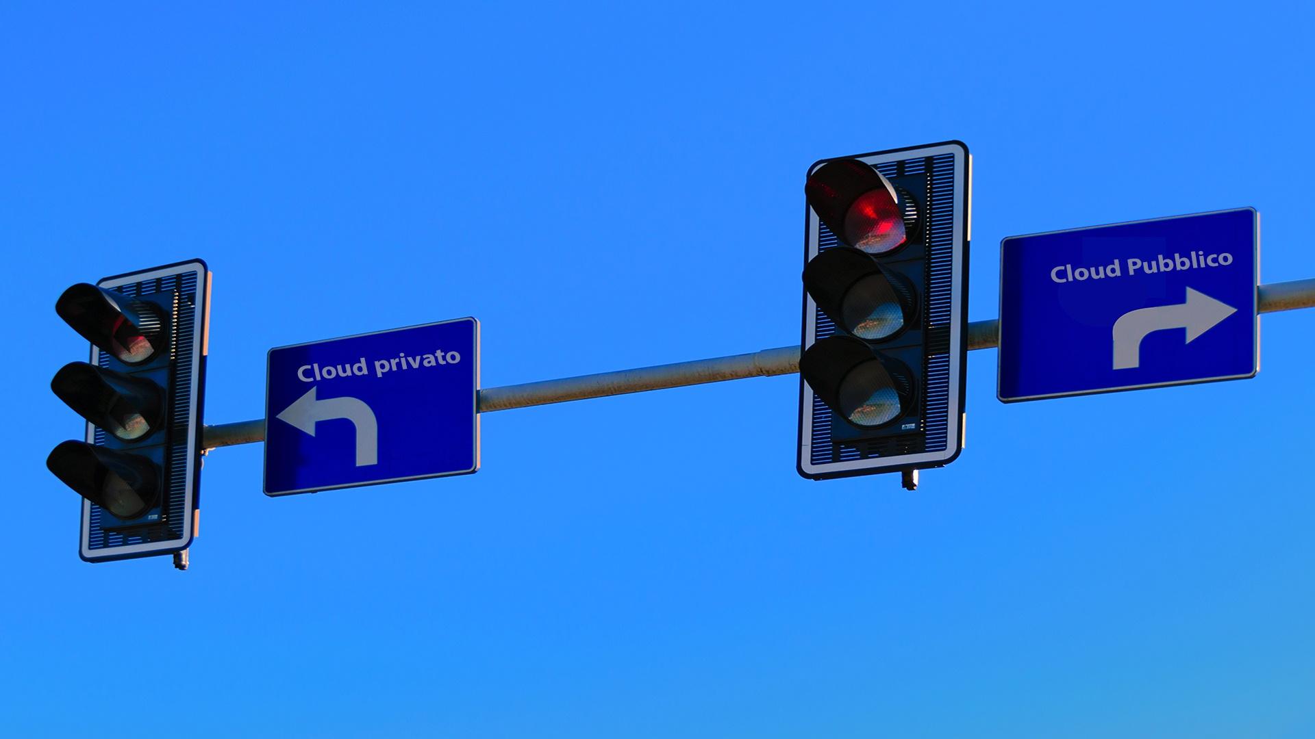 Cloud pubblico o Cloud privato