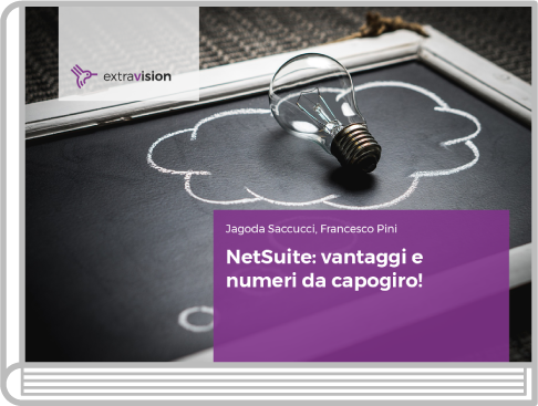 Extra Vision | NetSuite: vantaggi e numeri da capogiro!