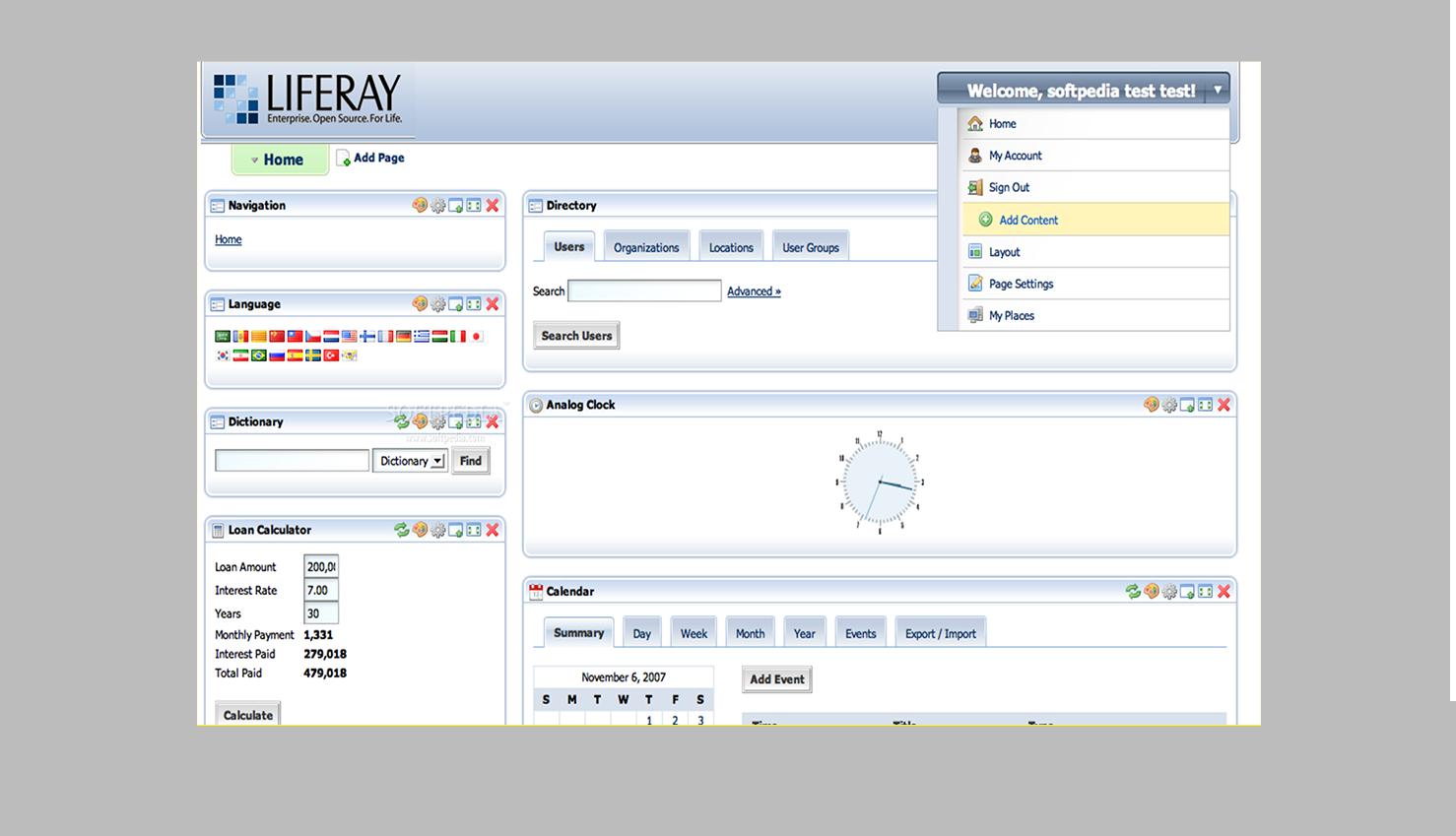 Extra | Liferay portale web open source