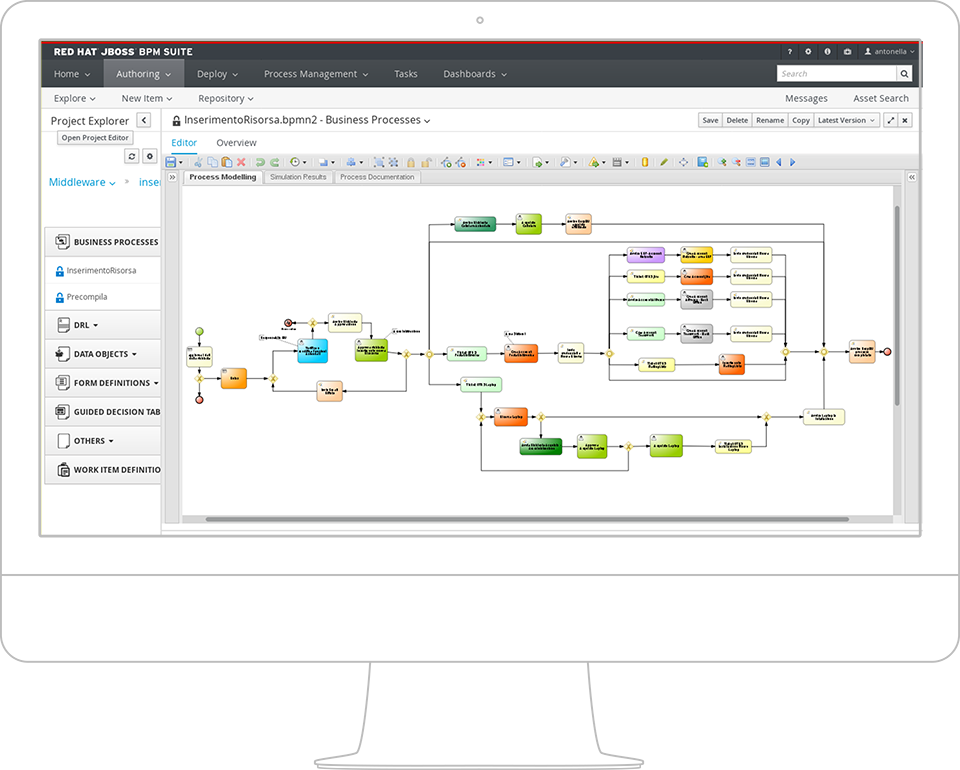 Red Hat JBoss BPM Suite from Extra Red