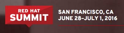 Red Hat Summit 2016