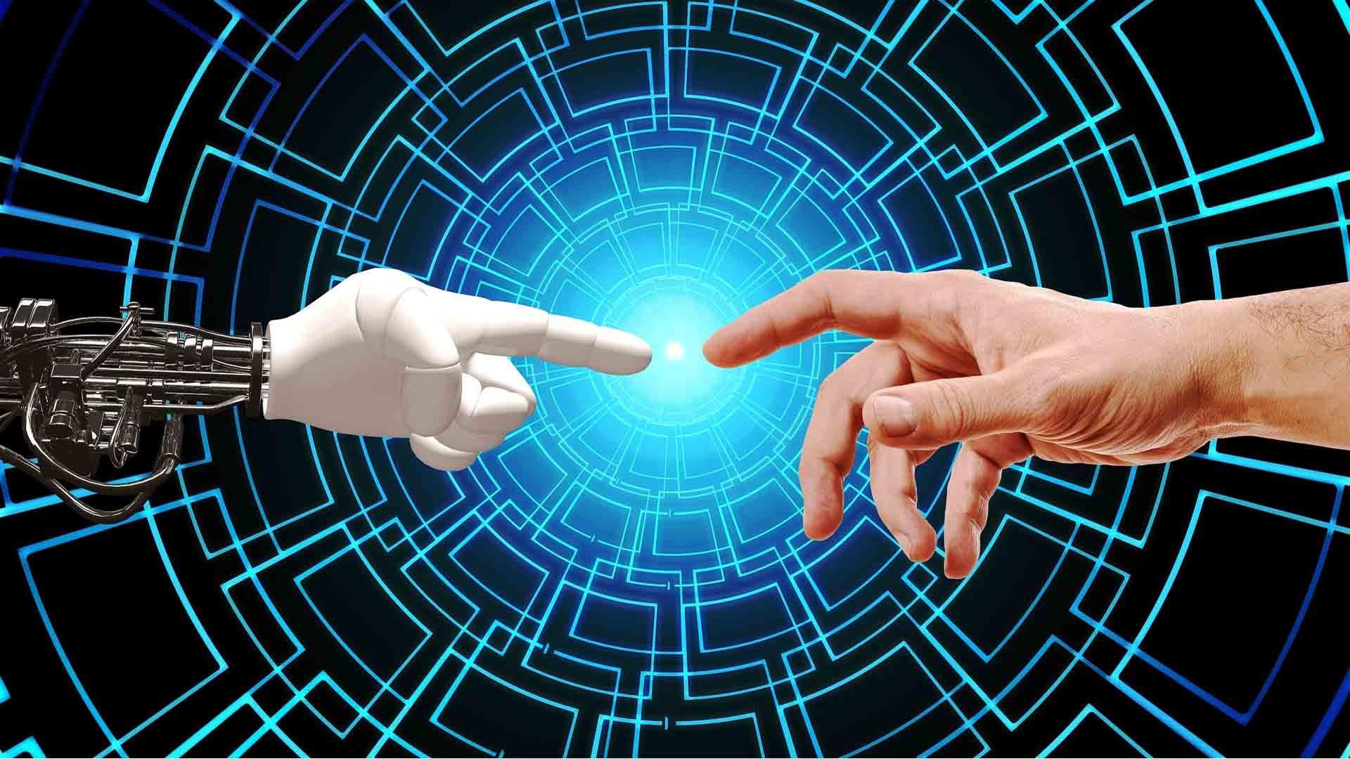 Mano umana e intelligenza artificiale