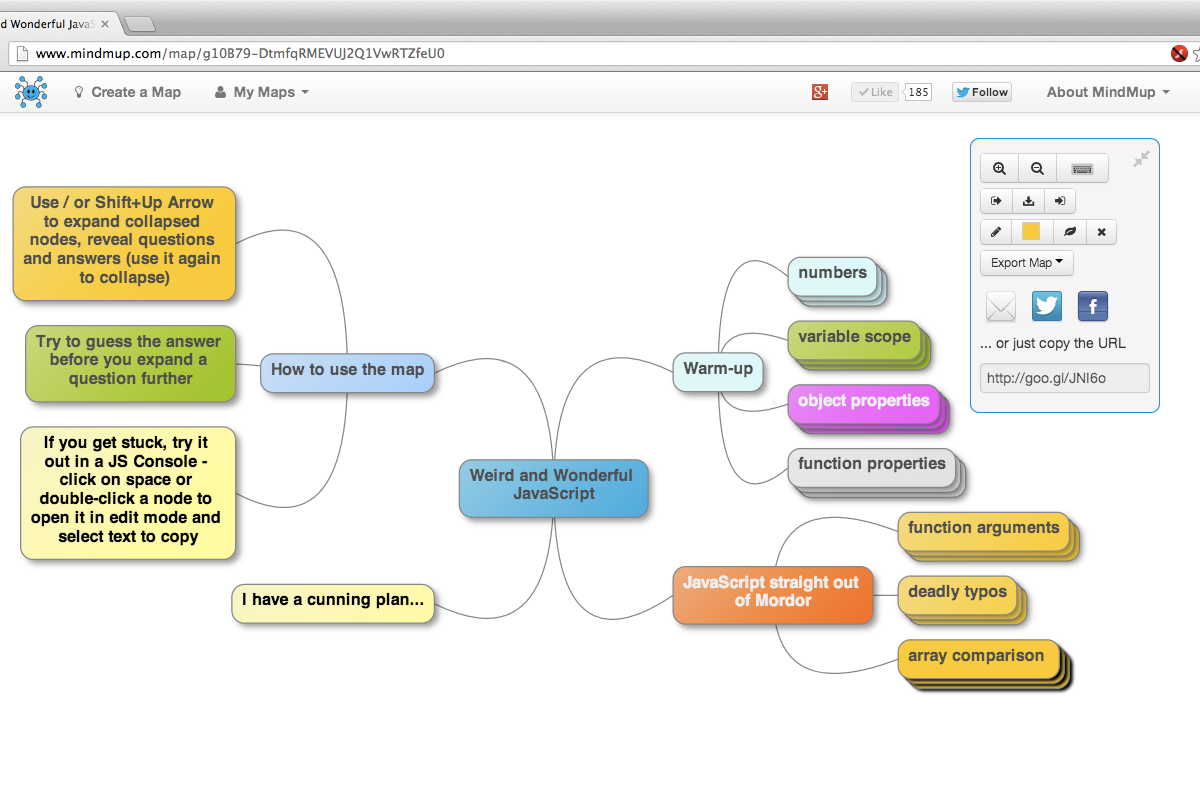 MindMup can help you organize your thoughts for your blog