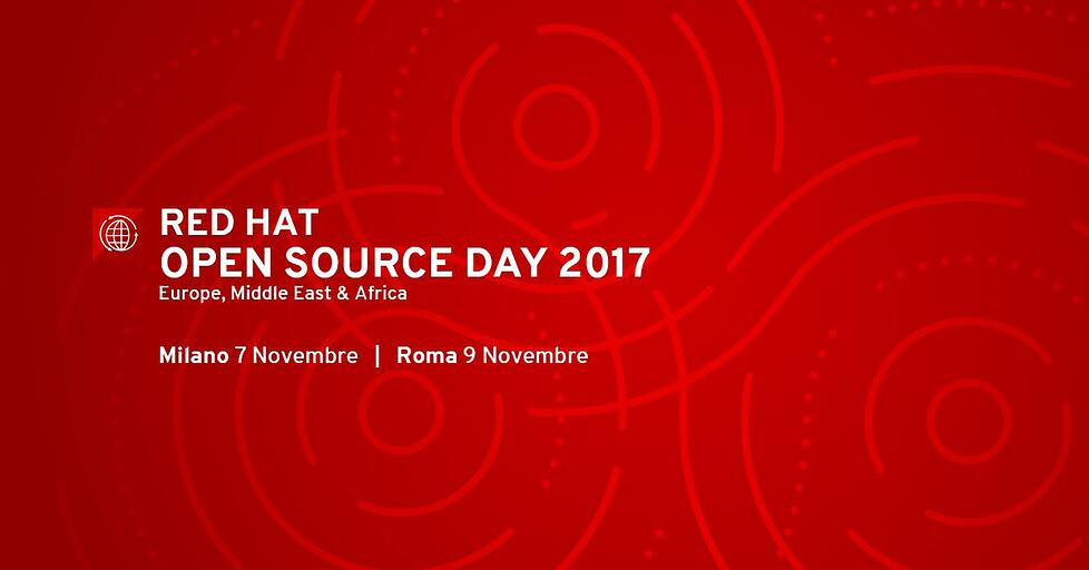 Red Hat Open Source Day 2017