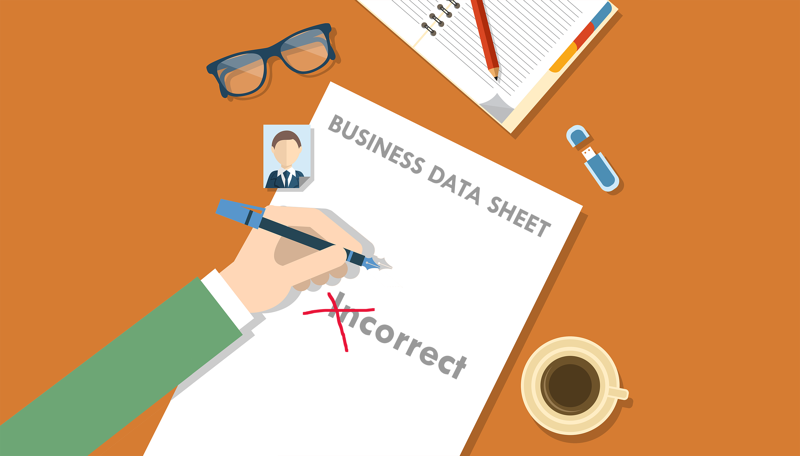 Sistema di Business Intelligence | Gestire dati errati
