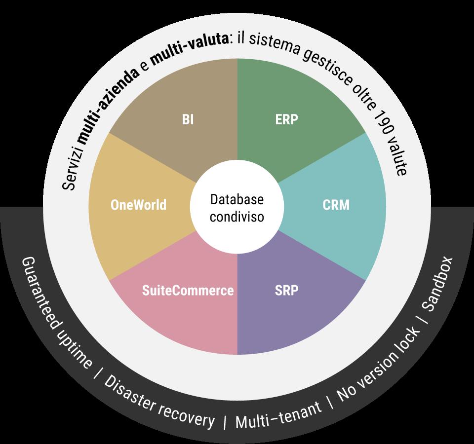 NetSuite: un unico software integrato per tutti i tuoi bisogni IT