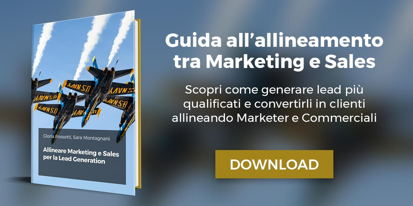 Allineare Marketing e Sales