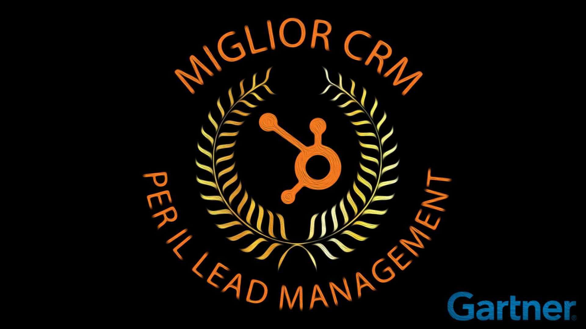 HubSpot nominato da Gartner miglior CRM per il Lead Management