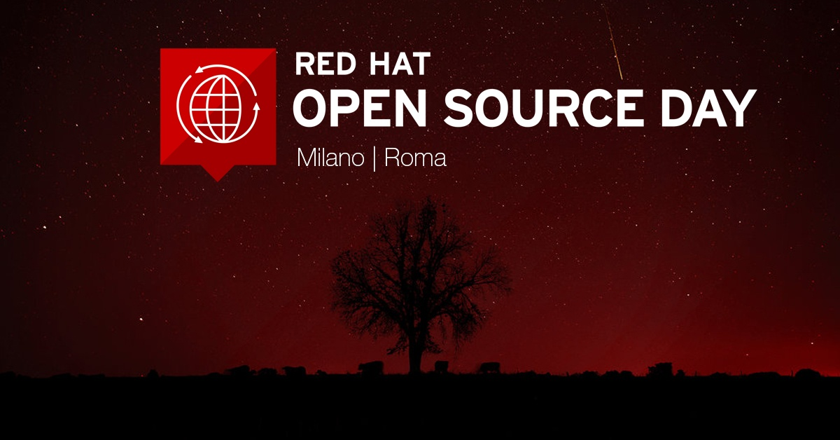 Red Hat Open Source Day 2016