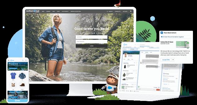 Piattaforme eCommerce - Salesforce commerce cloud